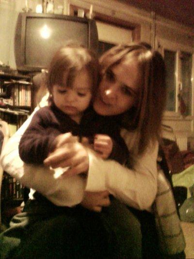ma fillle et moi <3