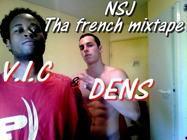 "Compil' France-USA [Dens & VIC] ""NSJ : Tha French Mixtape"""