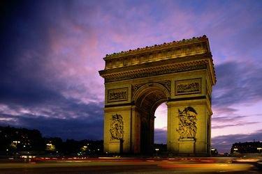 L'Arc de triomphe :