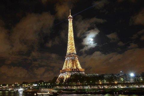 La Tour Eiffel :