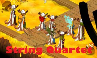 Les aventures de la Team String Quartet évoluant sur le serveur Kuri.