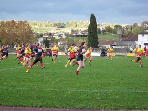 match à St Céré le 7 novembre 2010