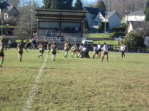 match contre Trélissac le 16 janvier 2011