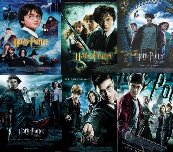 Saga Harry potter Sortie Les Années Passé