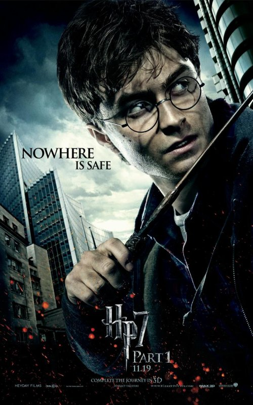 New Affiche De Harry Potter Et les Reliques de la mort