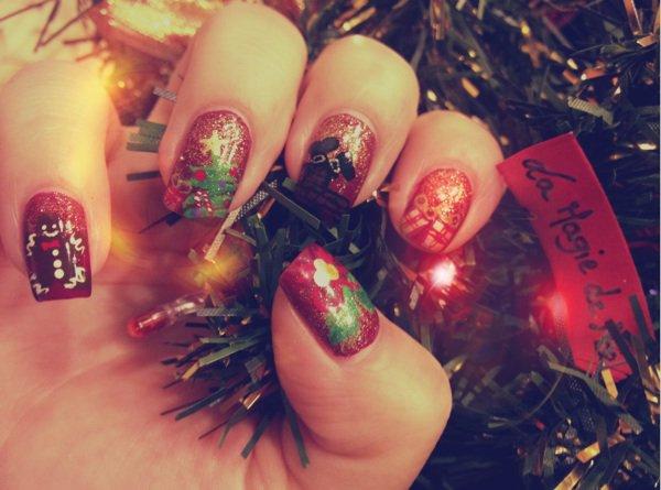 Nail art la magie de Noël !