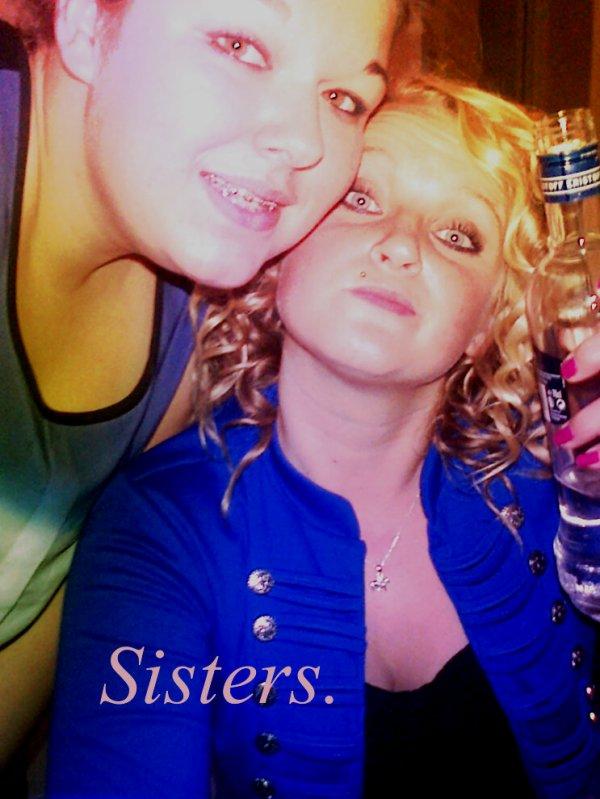Tu es devenu pour moi une grande soeur. Inséparable, je t'aime tu sais......