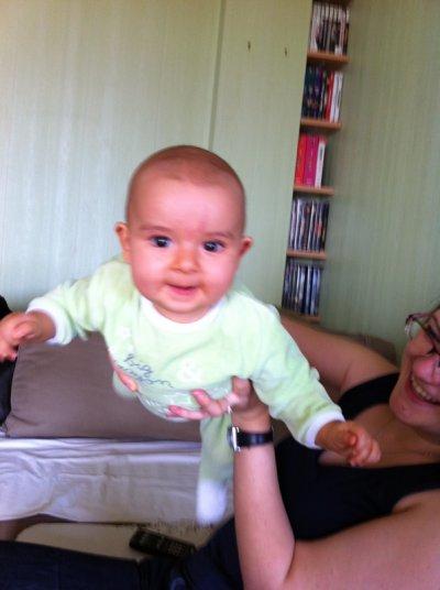 ma fille avec tata laetitia