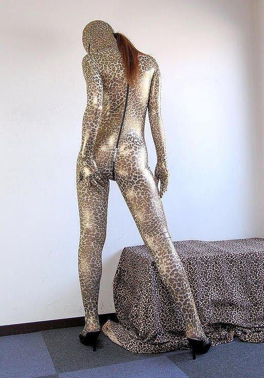 Zentaï girl : so sexy panthère...