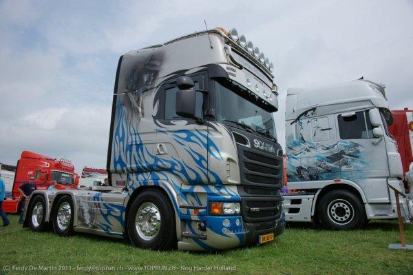 Scania décoré