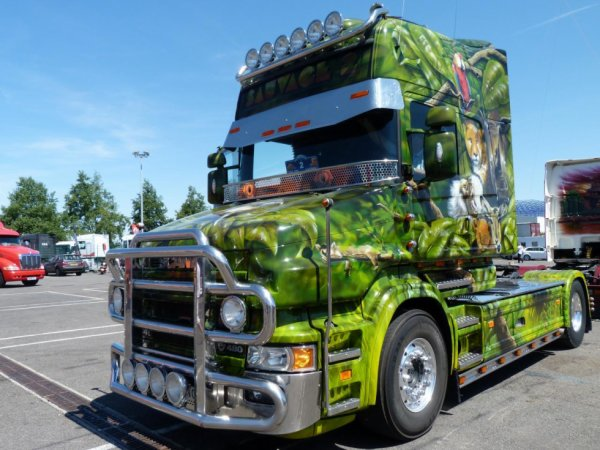 Scania T tuning