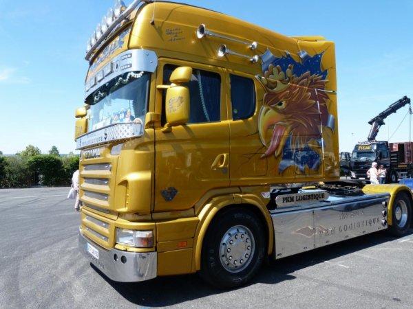 Scania R topline PKM Logistique