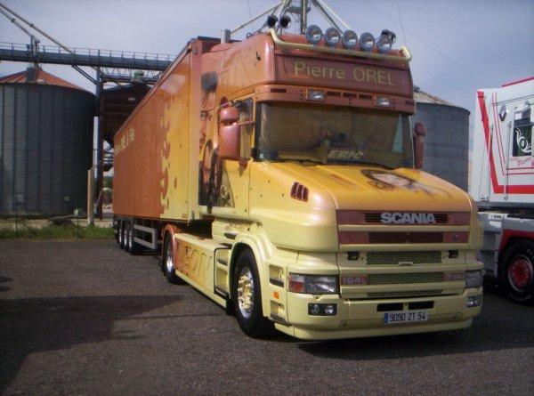 Scania T décoré