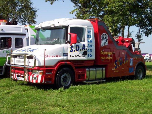 Scania T dépaneuse