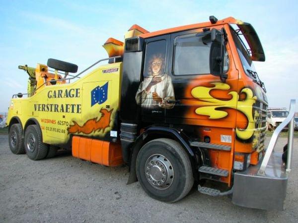 Scania 143 dépaneuse
