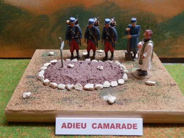 1914..ADIEU  CAMARADE