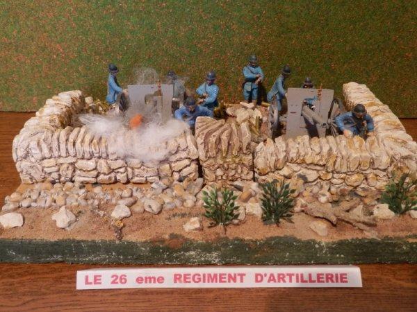 26 eme REGIMENT D'ARTILLERIE DE CAMPAGNE