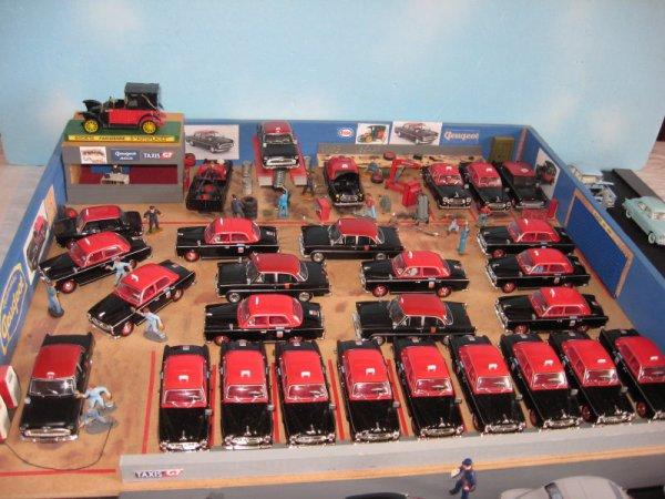 garage de taxis g7 dioramas guerre 1914 1918 et sapeurs pompiers. Black Bedroom Furniture Sets. Home Design Ideas