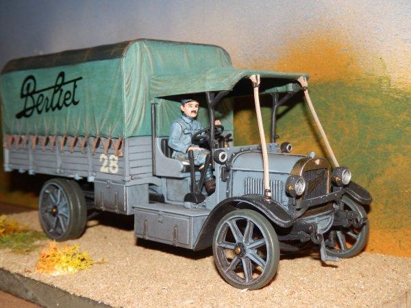 camion berliet cba de 1914 dioramas guerre 1914 1918 et sapeurs pompiers. Black Bedroom Furniture Sets. Home Design Ideas