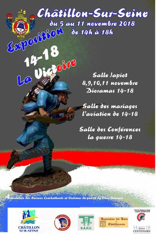 CHATILLON sur Seine  NOVEMBRE 2018