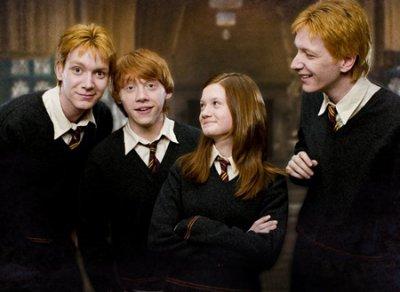 La famile weasley