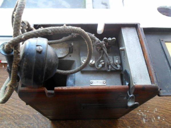 Téléphone de campagne US ww1