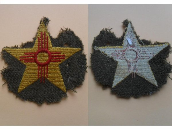 patch 56th Division cavalry us