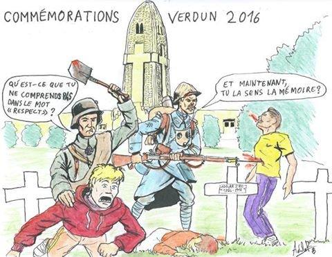 Mon avis sur la ceremonie du 100 ° anniversaire de la Bataille de Verdun