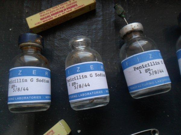 Fiole penicillin G sodium