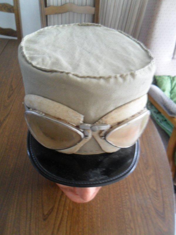 Realisation d'un couvre kepi sable