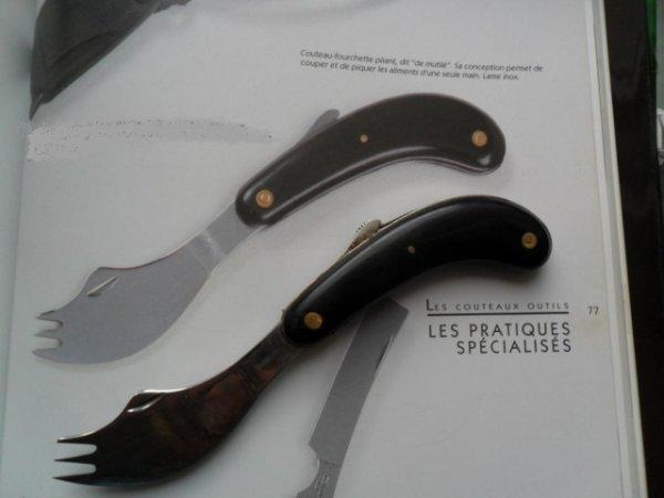 couteau pas courant