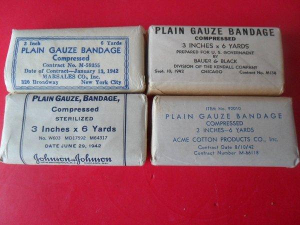 Plain gauze bandage