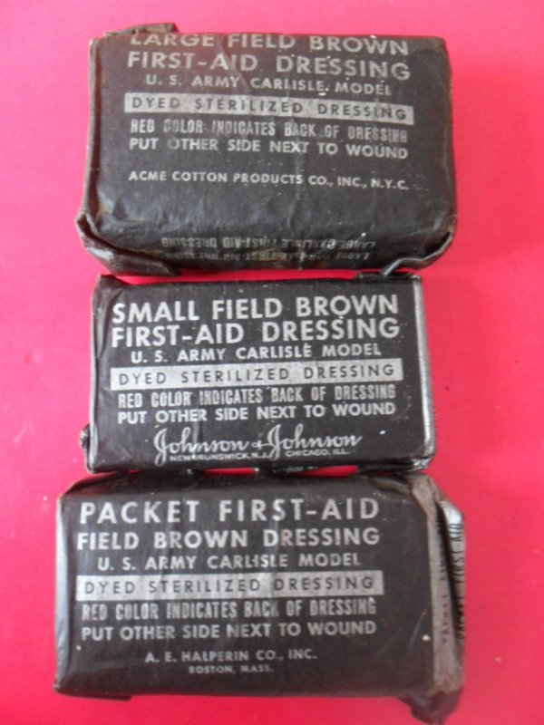 Packet first aid US Army carliste model