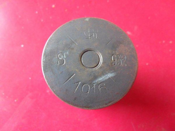 Douille autrichienne de 37mm (37x57R) pour canon à tir rapide de montagne