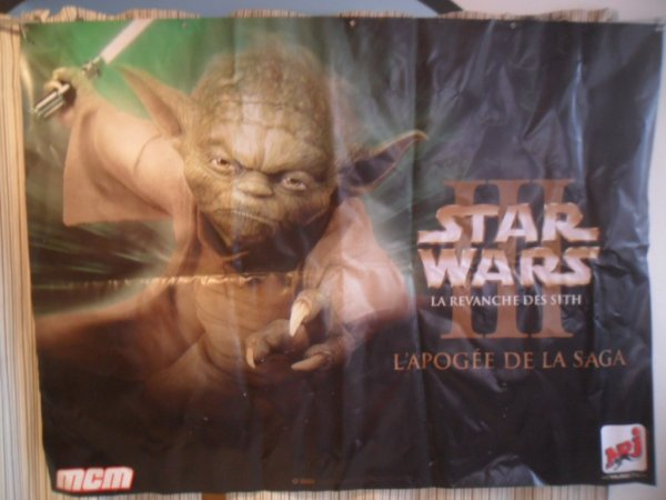 "affiche  Starwar  "" la revanche des Sith"" 2005"