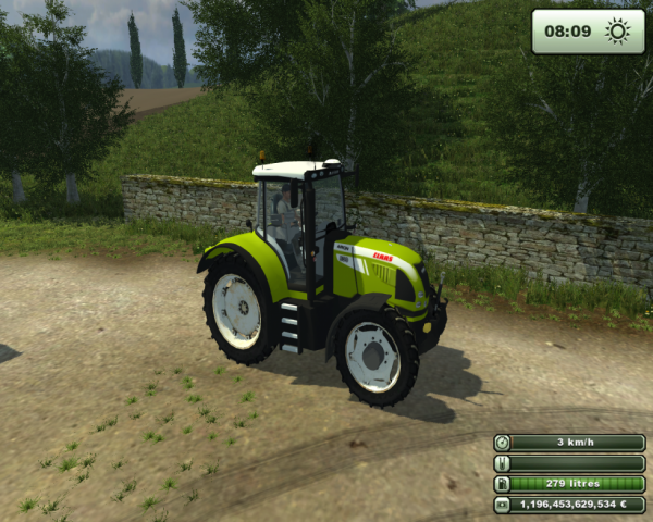 Claas axion 420