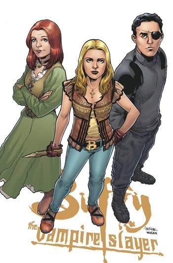 Saison 8 Comics de Buffy contre les vampires.