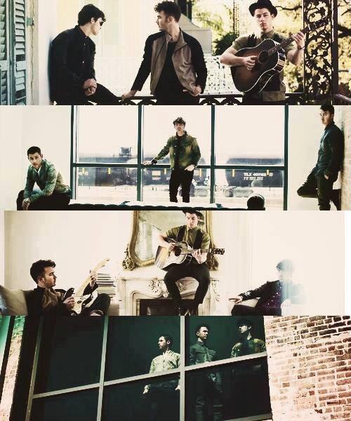 Les Jonas Brothers en 2013