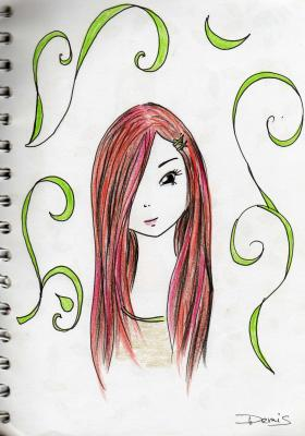 Dessin cerise a crazy girl 39 s old world - Dessin cerise ...