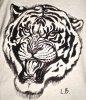 T-shirt Tigre (de près)