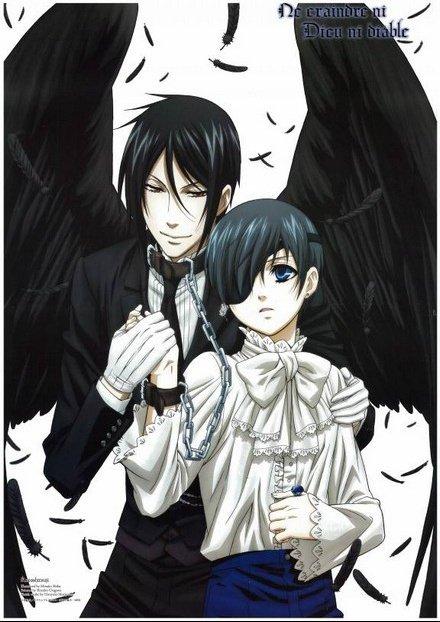 P : Ciel et Sebastian