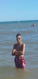 Moi à la playa =))