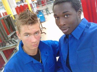 Mon srab et Moi au lycée =))
