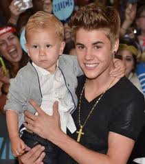 Justin avec Jaxon