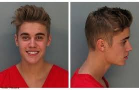 Mugshot de Justin Bieber