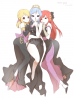 Lucy, Juvia et Erza
