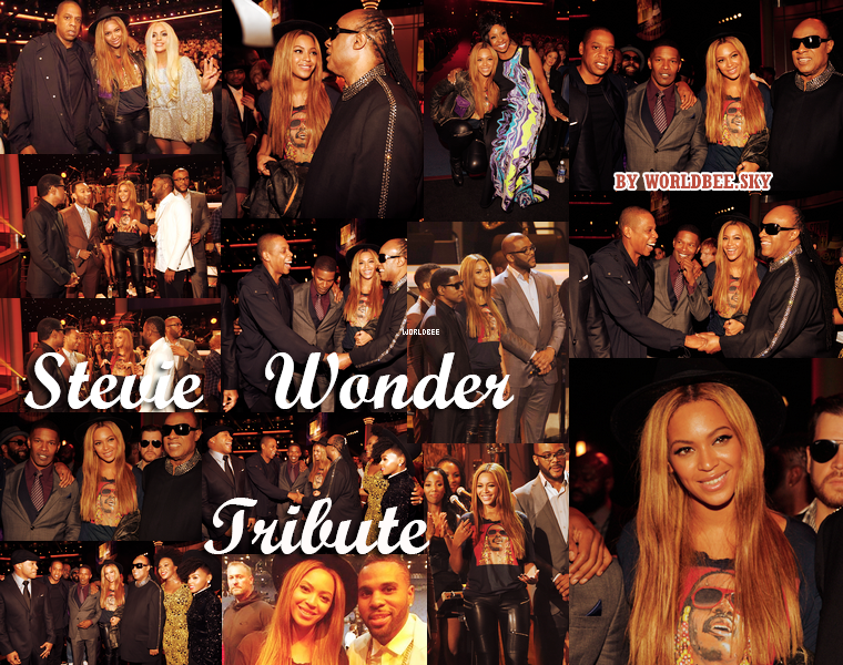 __ STEVIE WONDER GRAMMY TRIBUTE __ ____________________________________  ArTicLe 825 : On Worldbee - Beyonce News · · · · · · · · · · · · · · · · · · · · · · · · · · · · · · ·