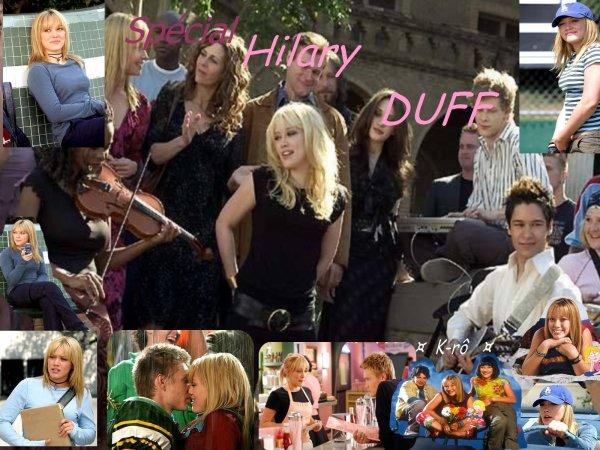 Les arts du ciné : suite avec l'actrice Hillary DUFF