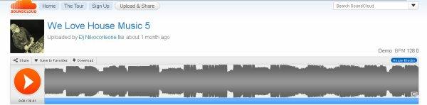 Podcast We Love House Music (Décembre 2010)