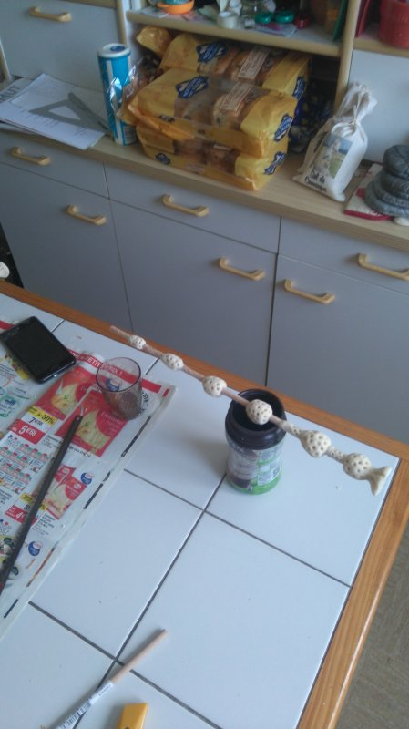 Fabrication de ma baguette de Dumbledore :)